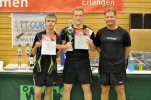 Die Einzelgewinner in der B-Klasse (Quelle: Facebookseite Erlangen-cup)