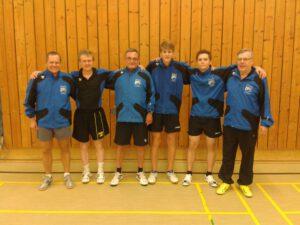 Die Aufstiegsmannschaft des TSV Winkelhaid II (Vorrunde)