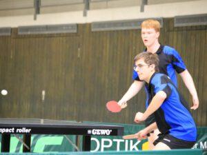 WIII - Doppel 2: Michael Bloß (im Vordergrund) und Stefan Hiemer