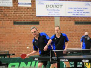 WII - Doppel 2: Peter Bauer (li.) und Matthias Kopp