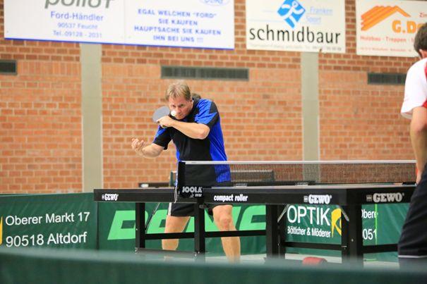 Erspielte in der Saison 2015 / 16 die beste Einzelbilanz bei den TSV-Herren: Günter Volkert