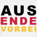 Aus-Ende-Vorbei---V3-T-Shirts