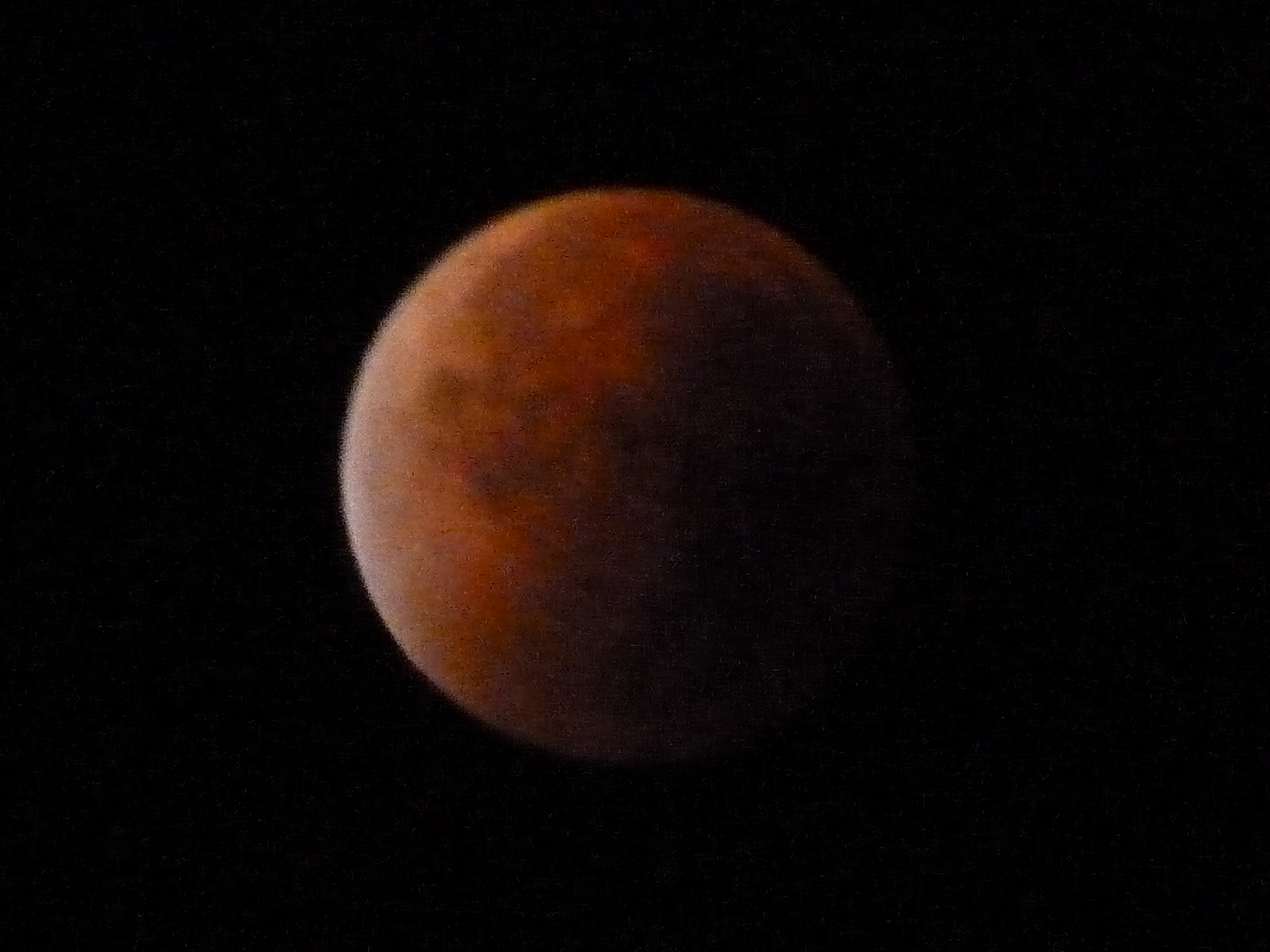 Totale Mondfinsternis vom 28.9.2015
